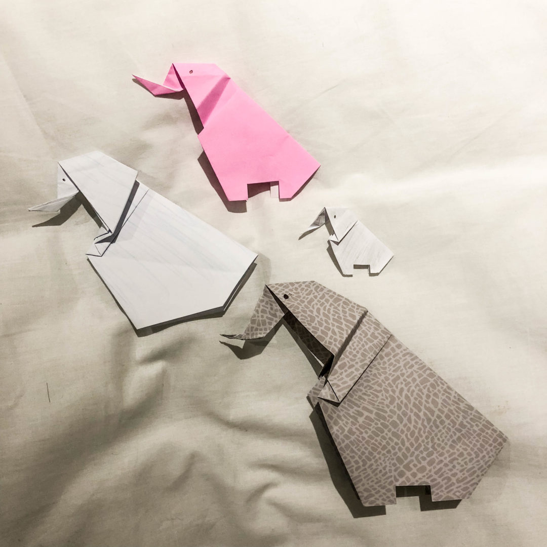 how to make a origami of animals